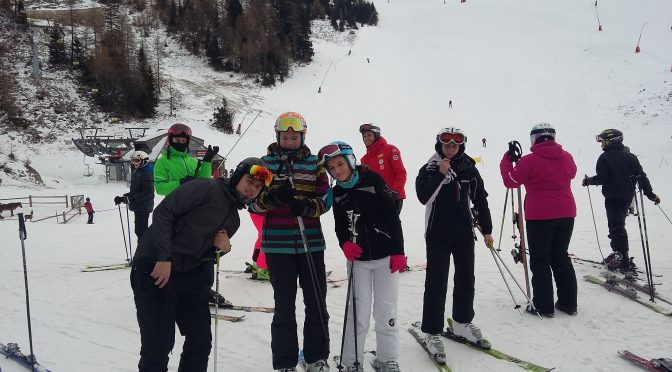 Športni dan, smučanje na Krvavcu, januar 2019