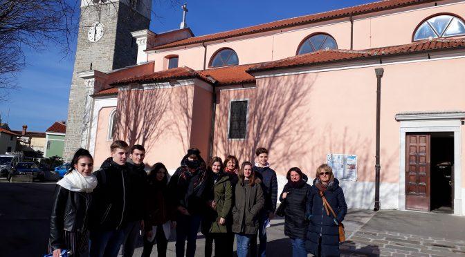 Obisk dijakov Srednje šole za gostinstvo in turizem Ljubljana, januar 2019