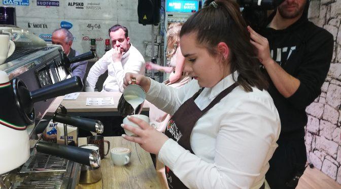 Tekmovanje v pripravi kave – Latte art